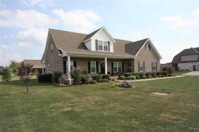 Bowling Green Single Family Home Under Contract: 1324 Ivan Downs Blvd