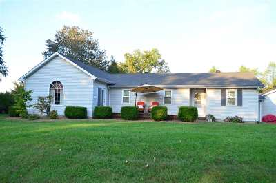 Bowling Green Single Family Home For Sale: 1490 Hammett Hill Road
