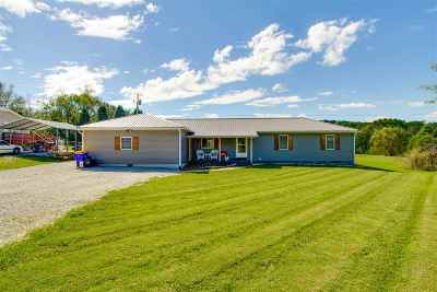 Bowling Green Single Family Home For Sale: 3231 Hammett Hill Rd