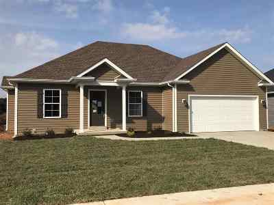 Bowling Green Single Family Home For Sale: 819 Pleasant Meadow Lane