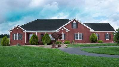 Bowling Green Single Family Home For Sale: 5760 Woodburn Allen Springs Rd
