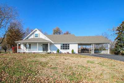 Horse Cave Single Family Home For Sale: 4993 S Jackson Hwy