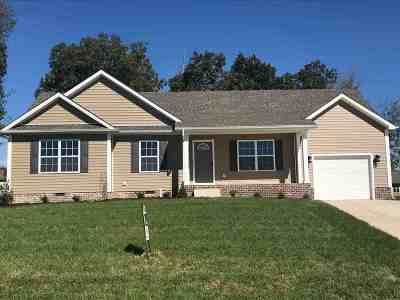 Bowling Green Single Family Home For Sale: 740 Pleasant Meadow