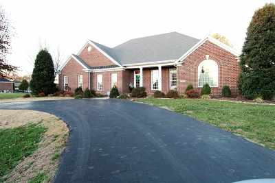 Bowling Green Single Family Home For Sale: 596 Grider Pond Rd