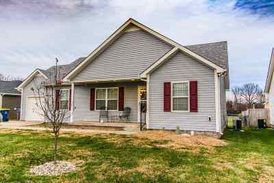 Bowling Green KY Single Family Home For Sale: $167,000