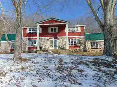 Single Family Home Under Contract: 260 Hardin Rd