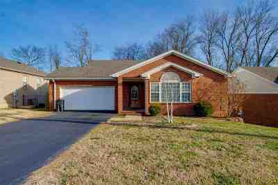 Bowling Green Single Family Home For Sale: 316 Seqouia Court