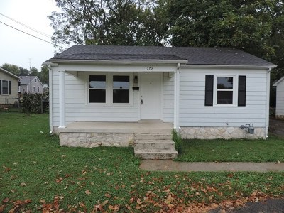 Bowling Green KY Single Family Home For Sale: $118,500