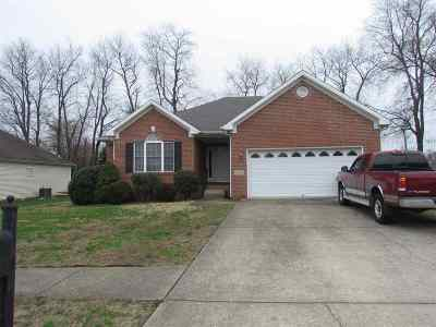 Bowling Green Single Family Home Under Contract: 1528 Curling Drive