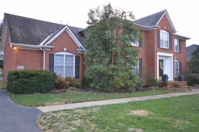 Bowling Green Single Family Home For Sale: 1534 Chenoweth Circle
