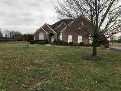 Bowling Green Single Family Home For Sale: 1350 Matlock Road