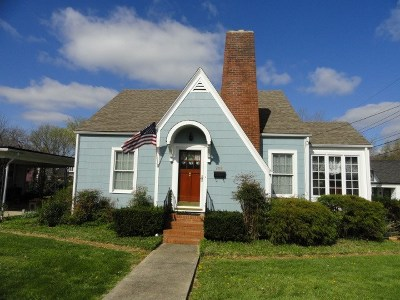 Horse Cave Single Family Home For Sale: 208 Vial St