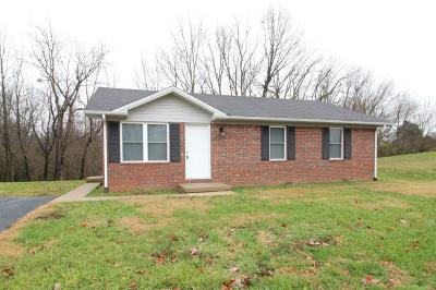 Horse Cave Single Family Home For Sale: 154 Lees Circle