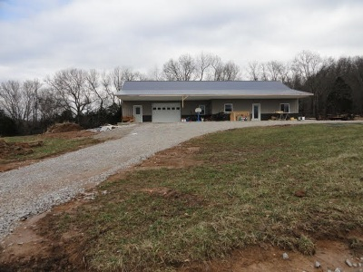 Horse Cave Single Family Home For Sale: 482 Guthrie St