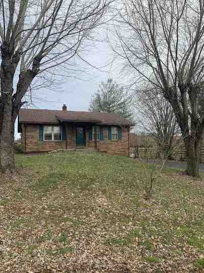 Campbellsville Single Family Home For Sale: 58 Lemon Bend Rd