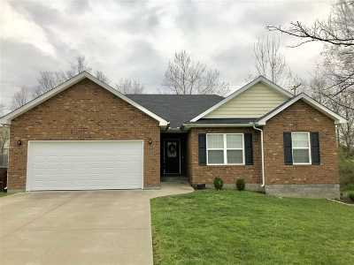 Elizabethtown Single Family Home Under Contract: 107 Lake Spring Court