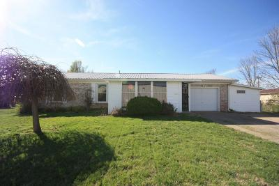 Leitchfield KY Single Family Home For Sale: $99,000