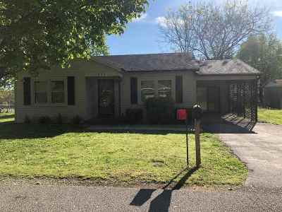 Bowling Green KY Single Family Home For Sale: $99,900