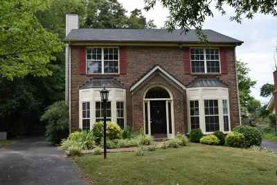 Bowling Green Single Family Home For Sale: 1604 Pleasant Way