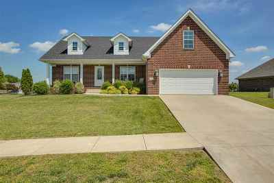 Bowling Green Single Family Home For Sale: 484 Day Star Circle