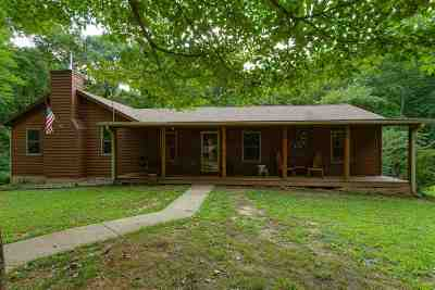 Scottsville Single Family Home For Sale: 971 Hiley Spencer Road