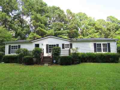 Scottsville Single Family Home For Sale: 982 Walkers Chapel Rd.