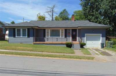 Scottsville Single Family Home For Sale: 207 S 4th St.