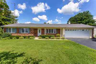 Smiths Grove Single Family Home For Sale: 10960 New Bowling Green