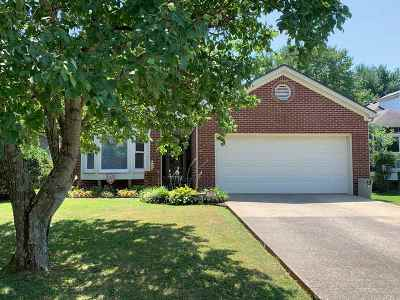 Bowling Green Single Family Home For Sale: 1729 Pleasant Way