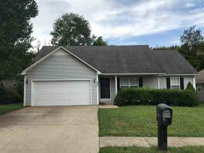 Bowling Green Single Family Home For Sale: 237 Turkey Run Dr