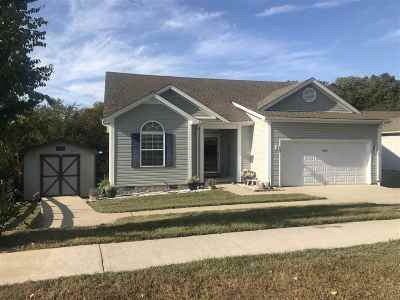 Bowling Green KY Single Family Home For Sale: $164,900