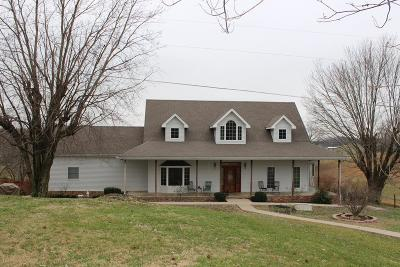 Glasgow Single Family Home For Sale: 1391 Hollow Rd