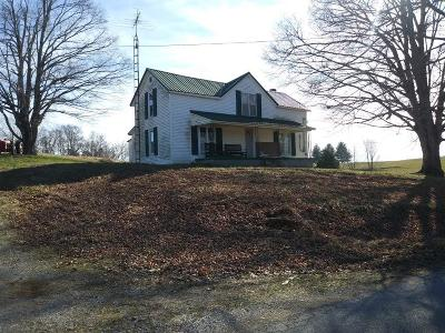 Metcalfe County Single Family Home For Sale: 1930 Pleasant Grove Church Rd