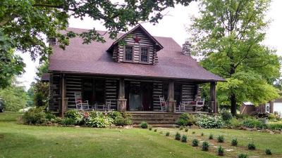 Cave City Single Family Home For Sale: 2662 Flint Knob Rd