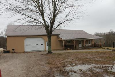 Glasgow Single Family Home For Sale: 850 Potato Cave Rd