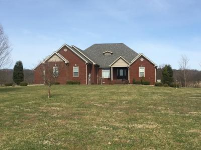 Horse Cave Single Family Home For Sale: 3138 Charlie Moran Hwy