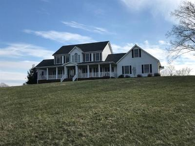 Glasgow Single Family Home For Sale: 1650 Oil Well Road
