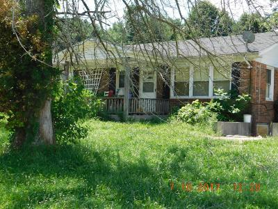Single Family Home For Sale: 2001 Ringgold Road