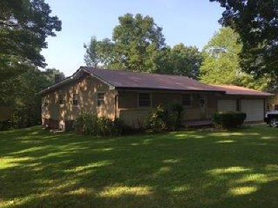 Monticello KY Single Family Home For Sale: $125,000