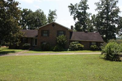 Somerset Single Family Home For Sale: 295 Cliffside Drive