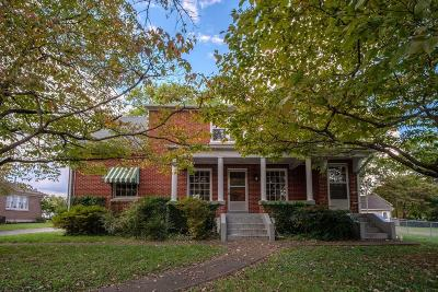 Somerset Single Family Home For Sale: 307 Clements Avenue