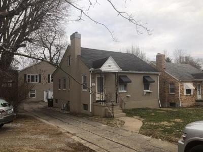 Somerset Single Family Home For Sale: 109 Crawford Avenue