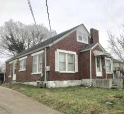 Somerset KY Single Family Home For Sale: $84,900