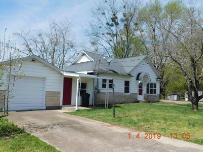 Ferguson Single Family Home Active Under Contract: 611 Jacksboro Street