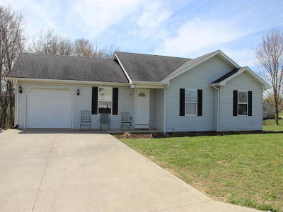 Science Hill Single Family Home Active Under Contract: 60 Saddle Drive