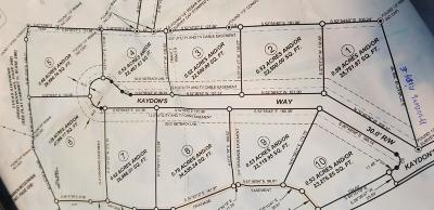 Somerset KY Residential Lots & Land For Sale: $22,000