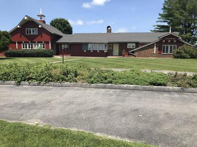 Somerset Single Family Home For Sale: 580 Oak Hill Road