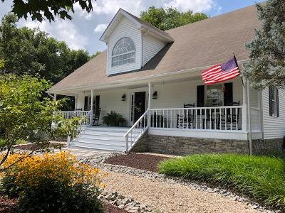 Russell Springs Single Family Home For Sale: 543 Old Sano Road