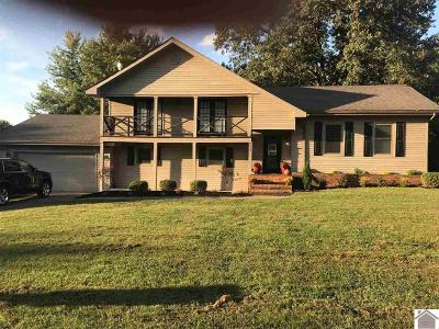 Paducah Single Family Home For Sale: 216 Castleberry