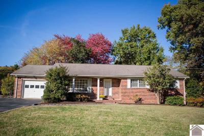 Calloway County Single Family Home For Sale: 1396 Johnson